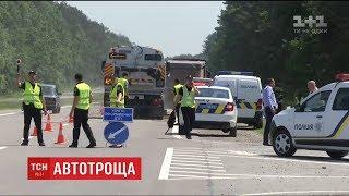 Шестеро заробітчан, що поверталися з Чехії, загинули у ДТП на Львівщині