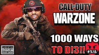 MODERN WARFARE | WARZONE or MULTIPLAYER? 1000 Ways to D!3!!! 😈