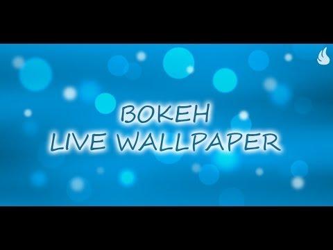 Video of Light Bokeh Live Wallpaper