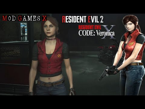 Resident Evil 2 RE - Claire Code Veronica X