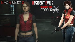 Resident Evil 2 RE  Claire Code Veronica X