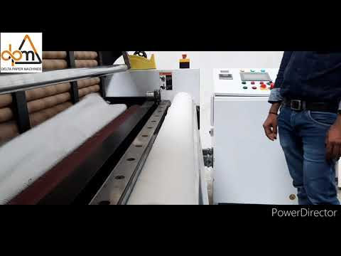 Hi Speed Fully Automatic Toilet Roll Making Machine
