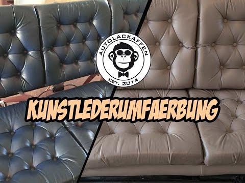 Anleitung : Komplettumfärbung Kunst-Leder - Chevy Van // AUTOLACKAFFEN