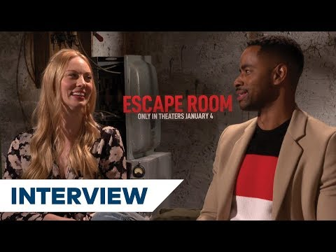 Deborah Ann Woll and the cast of Escape Room talk their terrifying horror film