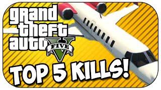 Top 5 Bounty Kills in GTA 5!