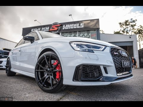 Audi RS3 Fitted With The Stylish Package 😍 l Stylish Wheels