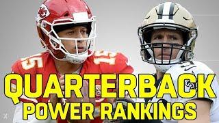 Ranking the NFL QB