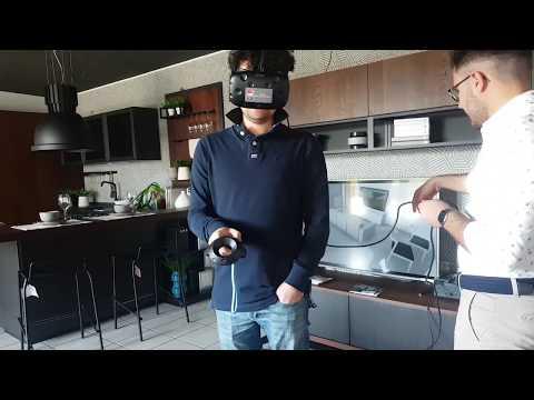 Abruzzo cucine Lube e Creokitchens store Pratola Peligna entra in cucina con la realtà virtuale (5) - Video - LUBE CREO Store Pratola Peligna