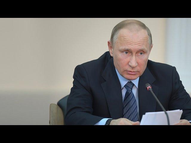 Владимир Путин прибыл в Иркутск