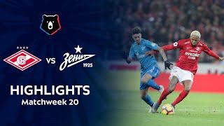 Highlights Spartak vs Zenit (1-1)