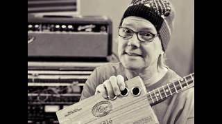 "AZ047 Swamp Guitar - Charm A Catfish ""Louisiana Slide"""