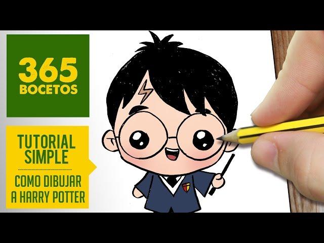 Video Como Dibujar Harry Potter Kawaii Paso A Paso Dibujos Kawaii