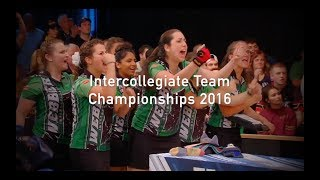 Intercollegiate Team Championships 2016 ITC Bowling Webber vs. Wichita
