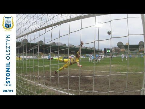 Skrót meczu GKS Bełchatów - Stomil Olsztyn 2:3