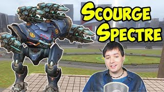 War Robots Sneaky Scourge Spectre RAMPAGE Gameplay WR