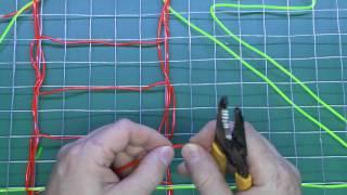 Making EL Wire Decorative Panels