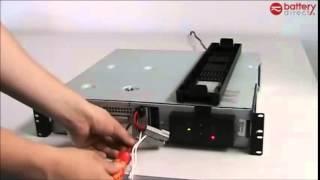 APC Replacement Battery RBC22 RBC23 RBC24 Installation, Instruction
