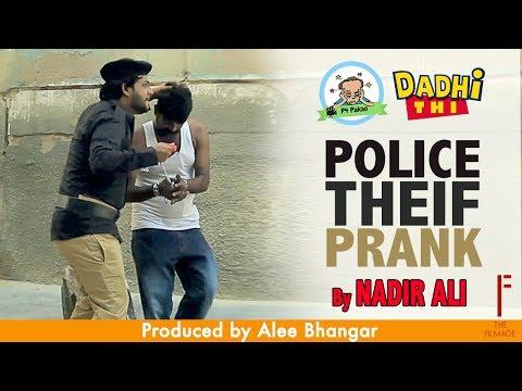 Police thief | Funny Prank By Nadir Ali & Asim Sanata In | P4 Pakao |