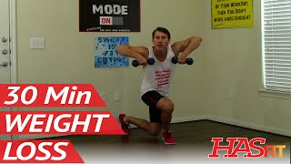 30 Min Fat Blazing Weight Loss Workout - Weight Loss Training - Weight Loss Exercises to Lose Weight by HASfit