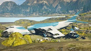 GTA 5 NO WATER MOD! - ALL UNDERWATER EASTER EGGS, SECRETS, CRASHED AIRPLANES & MORE! (LIVESTREAM)
