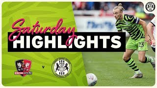 HIGHLIGHTS | Exeter City 1 Forest Green Rovers 0