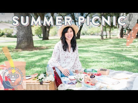 PERFECT PICNIC for Summer 🌞 Honeysuckle