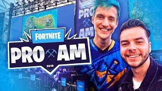 PLAYING FORTNITE AGAINST NINJA AT 3 MILLION DOLLAR TOURNAMENT!