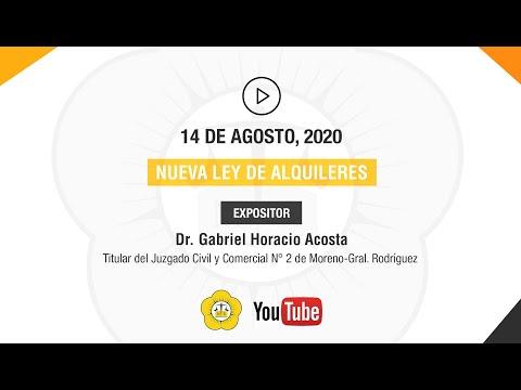 NUEVA LEY DE ALQUILERES - 13 de Agosto 2020