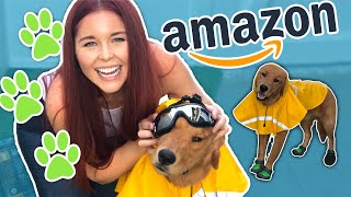 TRYING Amazons BEST Dog Accessories