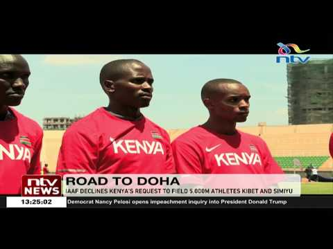 IAAF declines Kenya's request to field 5,000m athletes at the World Championships