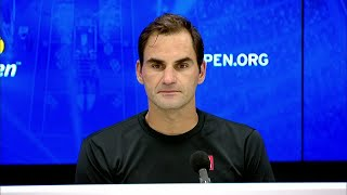 """Roger Federer: """"I'm just disappointed it's over"""" 