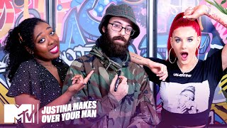 Justina Valentine Transforms This Dude From Raggedy To Swaggedy | Justina Makes Over Your Man