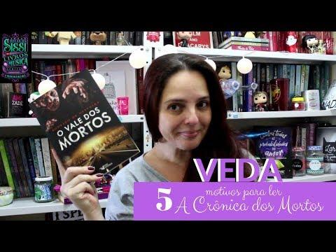 VEDA #05 - 5 Motivos Para Ler As Crônicas dos Mortos - Faro Editorial - DIcas da Sissi