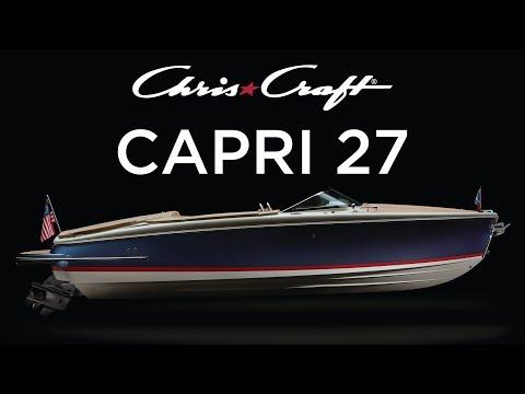 Chris-Craft Capri 27 video