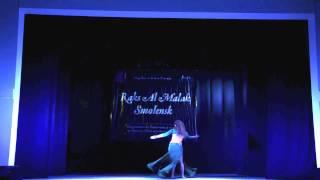 Аня Карасева. Raks al malak Smolensk 2016. Гала концерт.