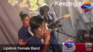 EXCLUSIVE!!! Meet The Exceptional Female Band In Ghana; The Lipstick Female Band On SVTV AFRICA