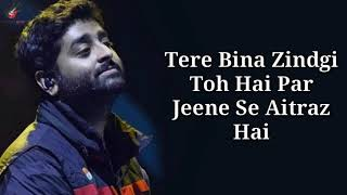 Dil Royi Jaye Lyrics - Arijit Singh - YouTube