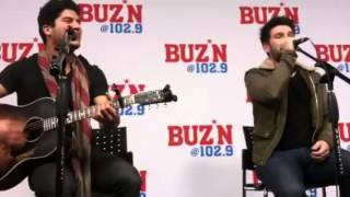 Dan and Shay somewhere only we know LIVE ACOUSTIC