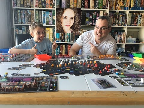 Gaia Project Board Game Review! with Justin and Max