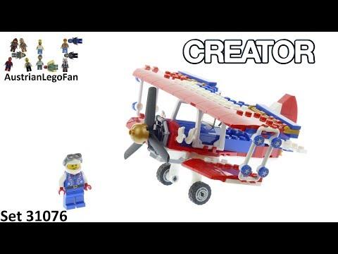 Vidéo LEGO Creator 31076 : L'avion de voltige à haut risque