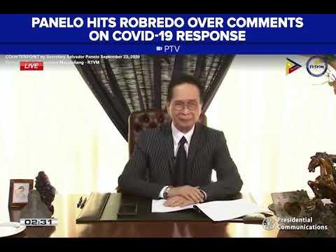 [News5]  Panelo: Mungkahi ni Robredo sa COVID-19 response, matagal nang ginagawa ng gobyerno
