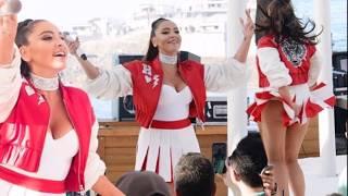 Hadise dans ederken frikik verdi 2017  inanılmaz göğüs dekoltesi Hadise Dans Show