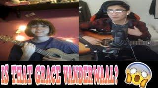 YOUNOW SINGING | IS THAT GRACE VANDERWAAL? [CRAZY REACTIONS]