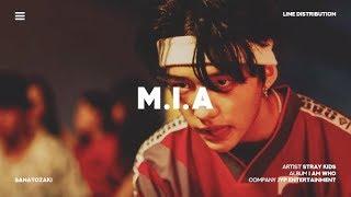 Stray Kids (스트레이 키즈) - M.I.A.   Line Distribution