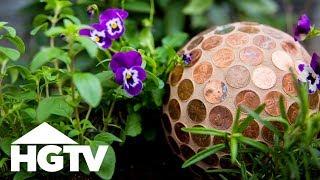 Make A Slug-Repelling Penny Ball For Your Garden - HGTV