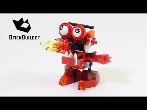 Vidéo LEGO Mixels 41532 : Burnard