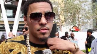J. Cole Talks 'Made Nas Proud' And Working With Kendrick Lamar & Drake