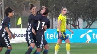 2016ラマンガ国際女子U23日本vsスウェーデン