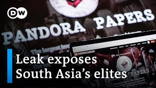 Pandora Papers investigation alleges high-level corruption in India and Pakistan   DW News