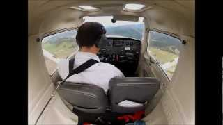 preview picture of video 'My First Solo Flight at Nelson Aviation College'